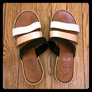 💯 authentic leather HAND MADE Greek sandals